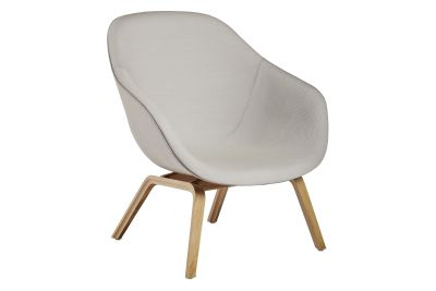 About A Lounge Chair AAL83, Lacquered Oak Legs Hallingdal 65 100
