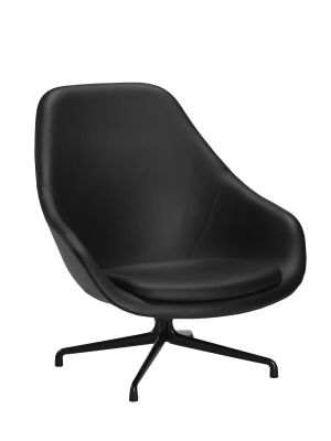 About A Lounge Chair AAL91 Tonus 4 690, Black Base