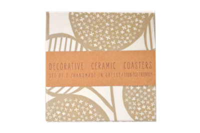 Abstract Florals Coasters