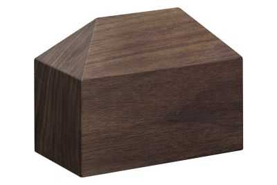 AC10 Haus Paper Weight, Hip Roof Oiled Walnut
