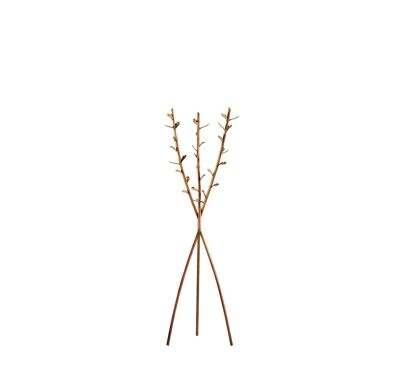 Acate Coat Hanger Brass