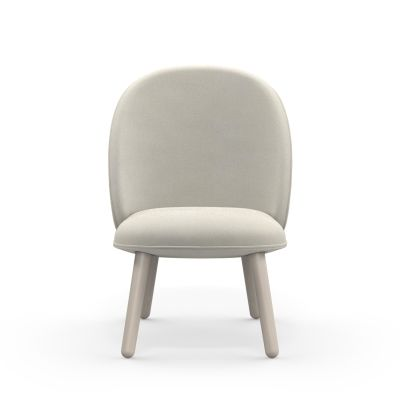 Ace Lounge Chair Nist Beige, Stained Beech