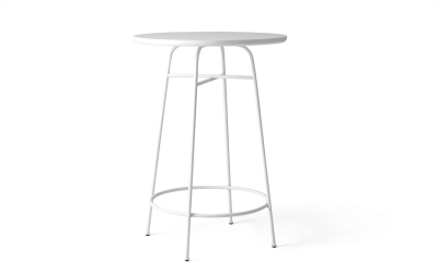 Afteroom Counter Table White/White Laminate