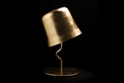 Agata Table Lamp Gold leaf