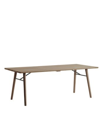 Alley Dining Table Smoke Oak, Smoke Oak, 240