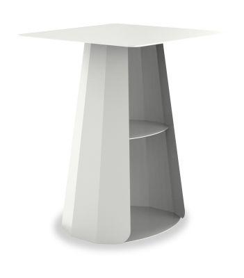 Ankara Square Bedside Table White