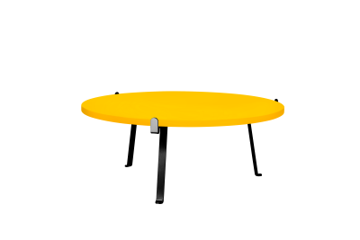 Arch Coffee Table Mango Yellow