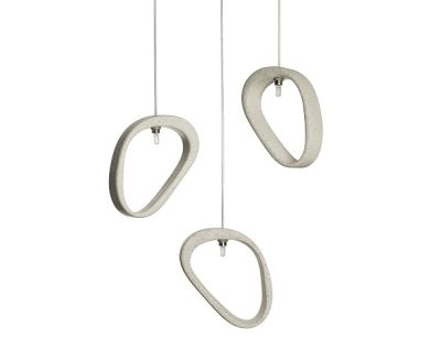 Aretha Concrete Pendant Light Aretha grey