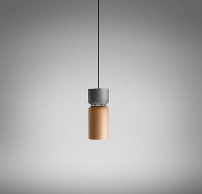 Aspen 17B Suspension Lamp Grey,Grey,Fluorescent
