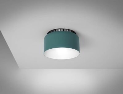 Aspen 40 Ceiling Lamp Halo, Aqua