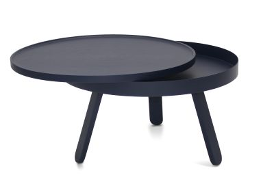 Batea M - Coffee table with storage Blue