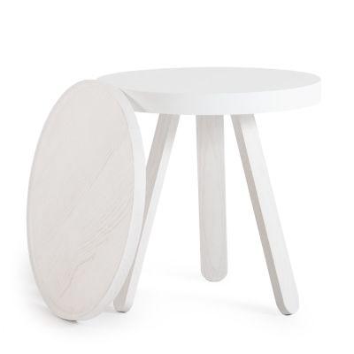 Batea S - Tray table White