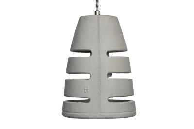 Battaglia 150 Concrete Pendant Light 200 cm Cable Lenght