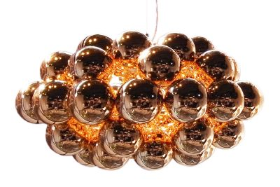 Beads Octo Pendant Light Copper