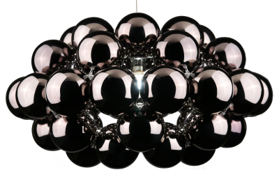 Beads Octo Pendant Light Gunmetal