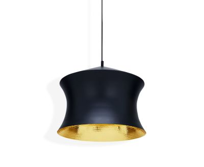 Beat Waist Black Pendant Lamp