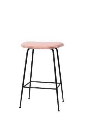 Beetle Counter Stool Black, Dunes 21000 Cognac, Frame Matt Black