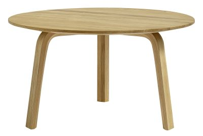 Bella Coffee Table L Oak, Short