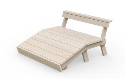 Berit Bench Chaise Longue Double