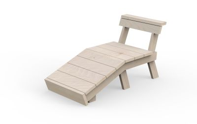 Berit Bench Chaise Longue Single
