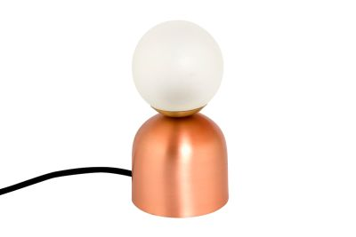 Bonbon Table Lamp Copper with Black Cable