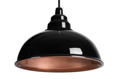 Botega Pendant Lamp Black and Copper