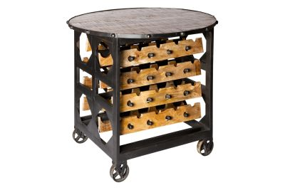Brix Wine Rack and Table