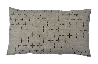 Brockley Cross Long Cushion Black