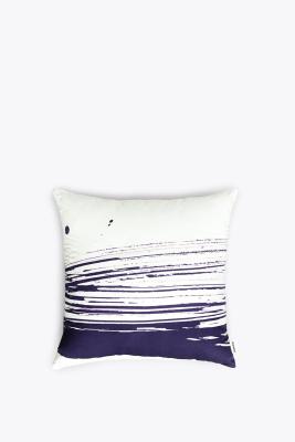 Brush Cushion Marine Blue