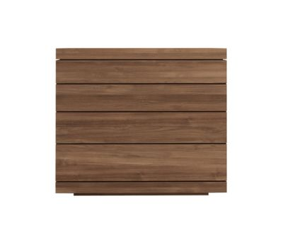 Burger low chest of drawers Teak