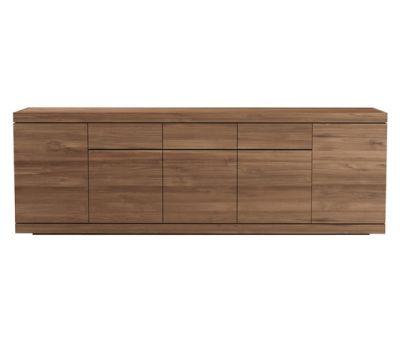 Burger sideboard - 5 doors - 3 drawers Teak