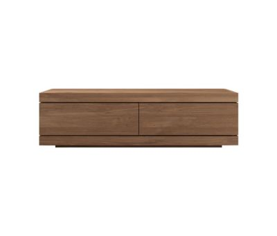 Burger TV cupboard - 140 cm Teak