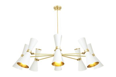 Cairo Chandelier White