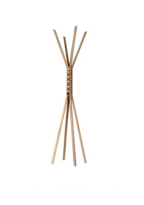 Cancan coat stand Walnut Natural