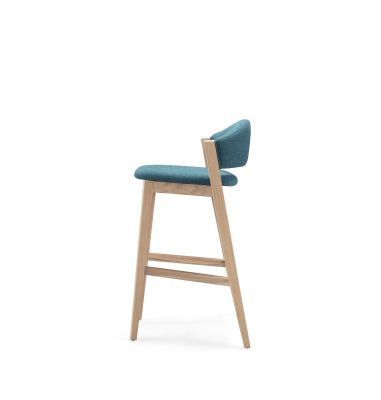 Caravela Barstool Oak Natural, Lana 007 Canary