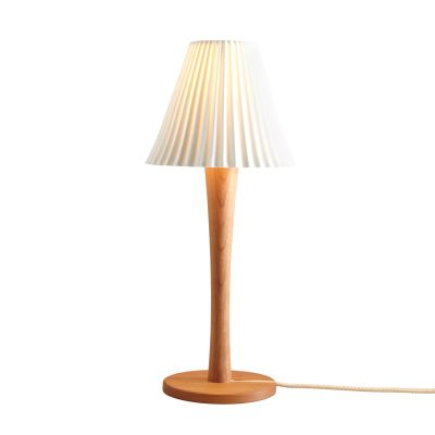 Cecil Table Lamp, Stem Base Oak Stem