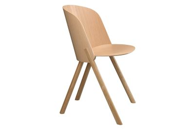 CH05 This Dining Chair Lacquered Oak Veneer