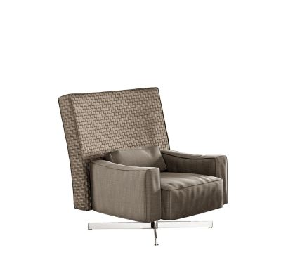 Cinemascope Armchair Cairo - Bianco 01