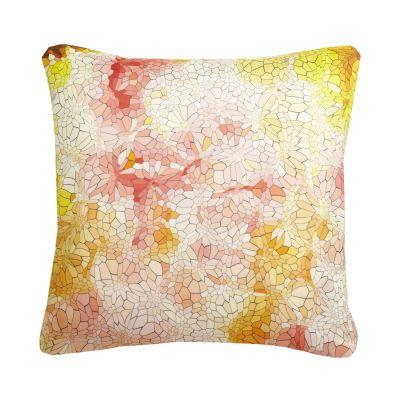 Clarity Mosaic Printed Cushion