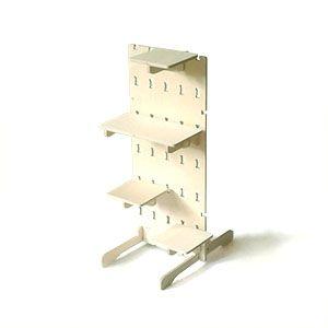 Coda Panel Angled panel with shelves (and feet)