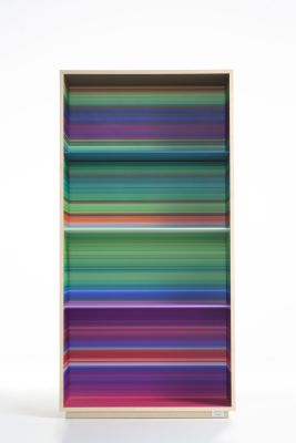Color Fall Floor Bookshelf green/purple/orange multicolor