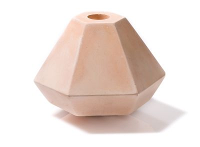 Concrete Candle Holder Coral, Short