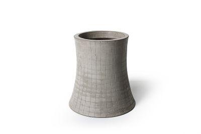 Concrete Nuclear plant - Set of 2 48cm