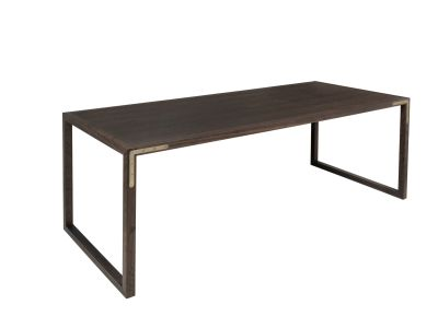 Conekt Dining Table Smoked Oak