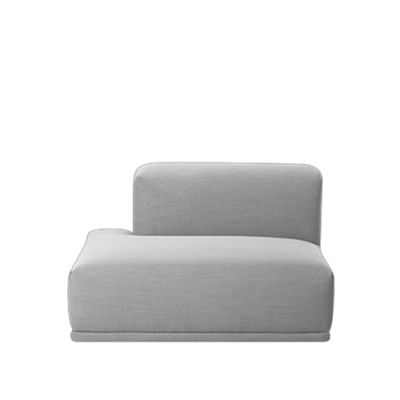 Connect Modular Sofa - Left Open ended Divina Melange 2 120