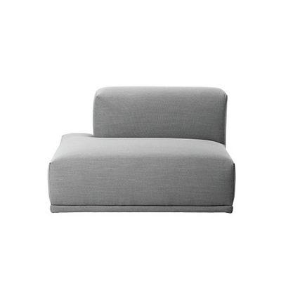 Connect Modular Sofa - Left Open ended Rime 591