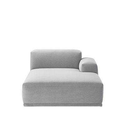 Connect Modular Sofa - Right Armrest Lounge Divina Melange 2 120