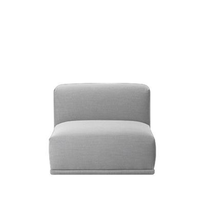 Connect Modular Sofa - Short Centre Divina Melange 2 120