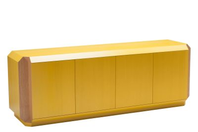 Corner Sideboard with Doors Oak, 200cm