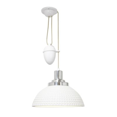 Cosmo Dimple Pendant Light Rise & Fall